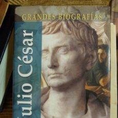 Libros de segunda mano: GRANDES BIOGRAFIAS :::JULIO CESAR 183 PAG NUEVO 1º EDICION DE EDITORSA. Lote 39542044