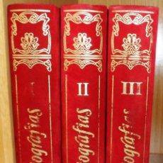 Libros de segunda mano: 3 TOMOS DE BIOGRAFÍAS. DE LA COL. TRADICIONES Y PERSONAJES DE GALICIA. Lote 39571836