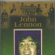 Libros de segunda mano: JOHN LENNON - PERSONAJES DEL SIGLO XX. Lote 39615572