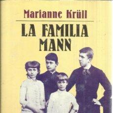 Libros de segunda mano: LA FAMILIA MANN. MARIANNE KRÜLL. EDHASA. BARCELONA. 1992.CONTIENE 3 LAMINAS DE 61 X 27 CM. LEER. Lote 39642504