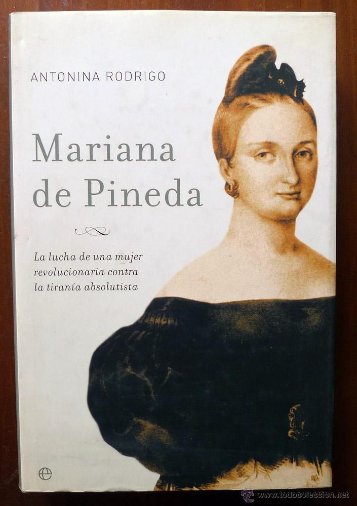 MARIANA DE PINEDA - ANTONINA RODRIGO (Libros de Segunda Mano - Biografías)