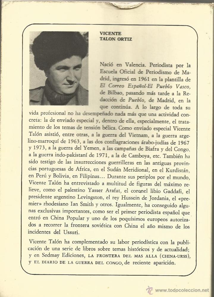 Libros de segunda mano: Adios, MAO. MAO TSE-TUNG (1893-1976) Vicente TALON - Foto 4 - 41260287