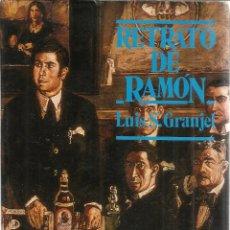 Libros de segunda mano: RETRATO DE RAMÓN GÓMEZ DE LA SERNA. LUIS S. GRANJEL. EDI. GUADARRAMA. MADRID. 1963. 1ª ED. Lote 41302953