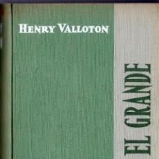 Libros de segunda mano: PEDRO EL GRANDE. HENRY VALLOTON. EDICIONES CID. MADRID. 1959.. Lote 41319175