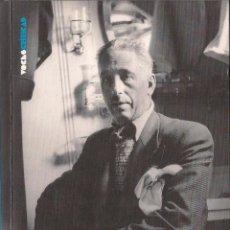 Libros de segunda mano: ÁNGEL OSSORIO Y GALLARDO : VIDA Y SACRIFICIO DE COMPANYS. (DIARIO PÚBLICO, VOCES CRÍTICAS, 2010). Lote 41335729