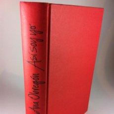 Libros de segunda mano: BIOGRAFIA ANA OBREGON ASI SOY YO, MIGUEL BOSE, EDITORIAL PLANETA, PRIMERA EDICIÓN MARZO 2012.. Lote 41370534