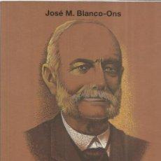 Libros de segunda mano: LUIS DE TRELLES. JOSÉ M. BLANCO ONS. EDICIONES ANE. SANTIAGO DE COMPOSTELA. 1991. Lote 41583296
