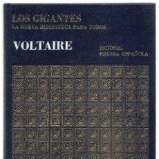 Libros de segunda mano: ENZO ORLANDI (ED.) . VOLTAIRE. Lote 41764408