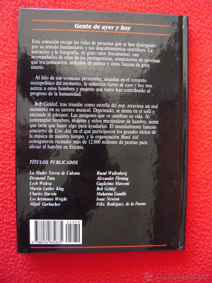 Libros de segunda mano: BOB GELDOF - CHARLOTTE GRAY - GENTE DE AYER Y DE HOY - EDICIONES SM - Foto 2 - 42142025