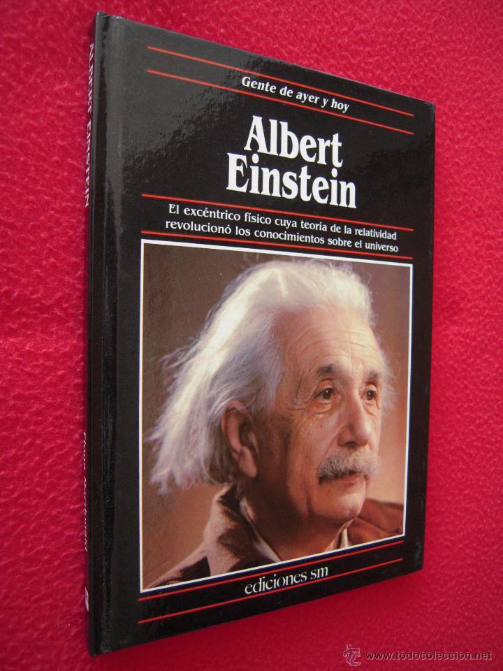 ALBERT EINSTEIN - FIONA MACDONALD - GENTE DE AYER Y DE HOY - EDICIONES SM (Libros de Segunda Mano - Biografías)