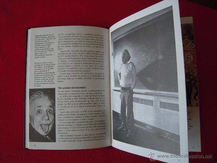Libros de segunda mano: ALBERT EINSTEIN - FIONA MACDONALD - GENTE DE AYER Y DE HOY - EDICIONES SM - Foto 3 - 42142116