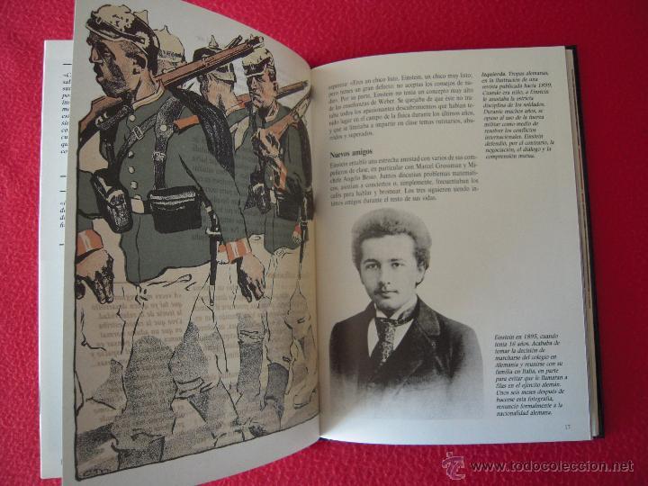 Libros de segunda mano: ALBERT EINSTEIN - FIONA MACDONALD - GENTE DE AYER Y DE HOY - EDICIONES SM - Foto 4 - 42142116