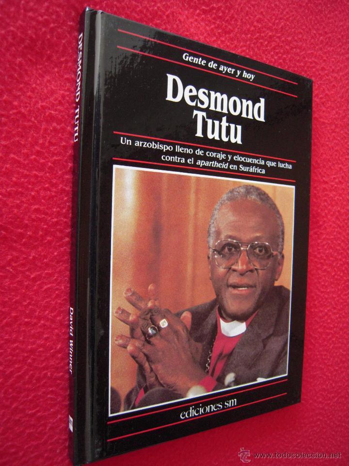 DESMOND TUTU - DAVID WINNER - GENTE DE AYER Y DE HOY - EDICIONES SM (Libros de Segunda Mano - Biografías)