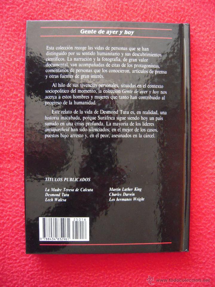 Libros de segunda mano: DESMOND TUTU - DAVID WINNER - GENTE DE AYER Y DE HOY - EDICIONES SM - Foto 2 - 42142300