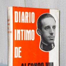 Libros de segunda mano: DIARÍO ÍNTIMO DE ALFONSO XIII. Lote 42423183