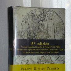Libros de segunda mano: FELIPE II Y SU TIEMPO. Lote 42428485