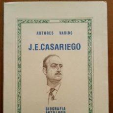 Libros de segunda mano: J.E. CASARIEGO - AUTORES VARIOS - BIOGRAFÍA ANTOLOGÍA Y CRÍTICA DE SU OBRA. ASTURIAS, 1984. Nº 146.. Lote 42430357