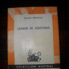 Second hand books - Leonor de Aquitania --- Régine Pernoud - 42436860