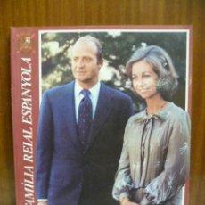 Libros de segunda mano: LA FAMILIA REAL ESPAÑOLA - EDICIÓN BILINGÜE CASTELLANO - CATALÁN 128 PÁGINAS. Lote 42568991