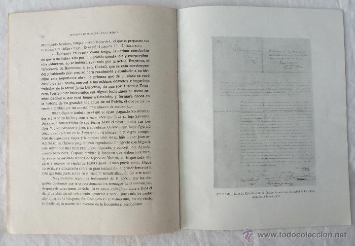 Libros de segunda mano: BIOGRAFIA DE D. MIGUEL BIADA BUNYOL - EL CARRIL DE MATARÓ / JAIME CASTELLVÍ TODA - 1947 - Foto 6 - 42985482