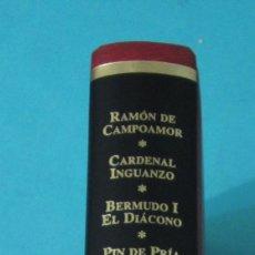 Libros de segunda mano: ASTURIANOS UNIVERSALES. VOL. IV . RAMÓN CAMPOAMOR, CARDENAL INGUANZO, BERMUDO I, PIN DE PRÍA, ADOLFO. Lote 43165220