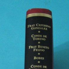 Libros de segunda mano: ASTURIANOS UNIVERSALES. VOL.III . FRAY CEFERINO GONZÁLEZ, CONDE DE TORENO, FRAY BENITO GERÓNIMO. Lote 43165263
