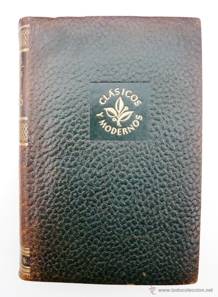 OBRAS COMPLETAS / E. LUDWIG/ ED. JUVENTUD 1957/ 1ª EDICION / PIEL / BIOGRAFIAS / VOLUMEN V (Libros de Segunda Mano - Biografías)