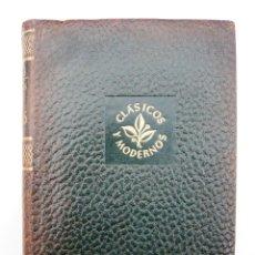 Libros de segunda mano: OBRAS COMPLETAS / E. LUDWIG/ ED. JUVENTUD 1957/ 1ª EDICION / PIEL / BIOGRAFIAS / VOLUMEN V. Lote 43562213