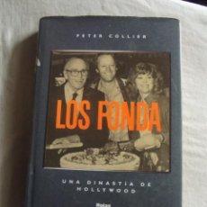 Libros de segunda mano: LOS FONDA UNA DINASTIA DE HOLLYWOOD POR PETER COLLIER . Lote 43772932