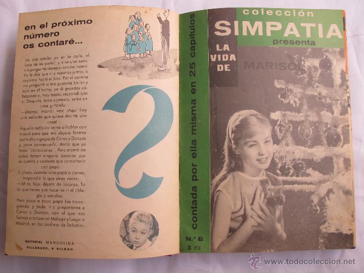 Libros de segunda mano: LA VIDA DE MARISOL - COLECCION SIMPATIA (28 CAPITULOS) - Foto 2 - 44074703