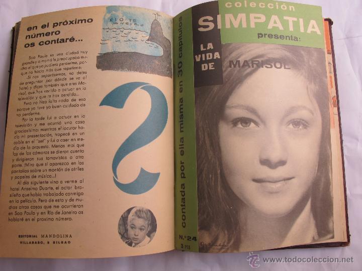 Libros de segunda mano: LA VIDA DE MARISOL - COLECCION SIMPATIA (28 CAPITULOS) - Foto 3 - 44074703