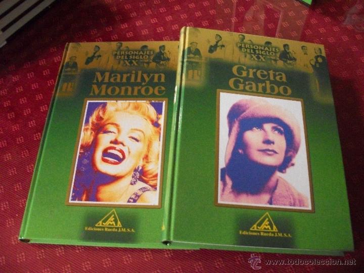 GRETA GARBO Y MARILYN MONROE. (Libros de Segunda Mano - Biografías)