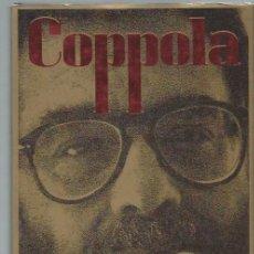 Libros de segunda mano: COPPOLA, PETER COWIE, ANDRE DEUTSCH, 1989 GREAT BRITAIN, 269 PÁGS, CON FOTOGRAFÍAS BLANCO Y NEGRO. Lote 44379190