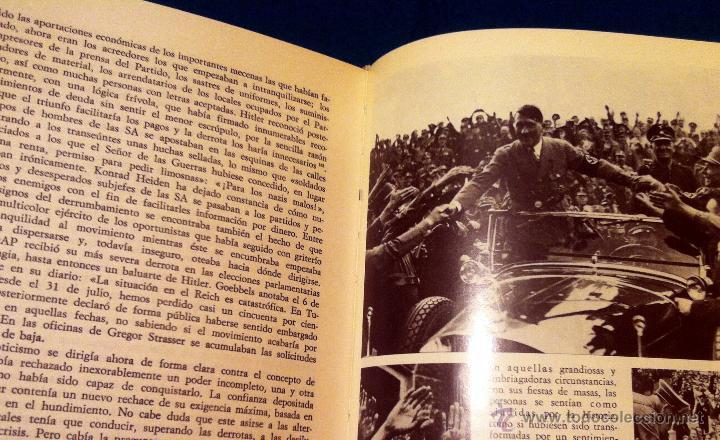 Libros de segunda mano: LB 20 - HITLER - BIOGRAFÍA DEFINITIVA - JOACHIM FEST - 2 TOMOS COMPLETA - NOGUER 1975 - COMO NUEVOS - Foto 8 - 44432322