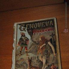 Libros de segunda mano: C62 EST1 SATURNINO CALLEJA MADRID GENOVEVA DE BRABANTE CRISTOBAL SCHMID BIBLIOTECA XXVIII. Lote 44715323