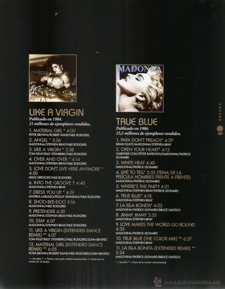 Libros de segunda mano: SYLVIE NAVARRON RUELLAN (EDI.). Madonna. RM66081. - Foto 4 - 44761129