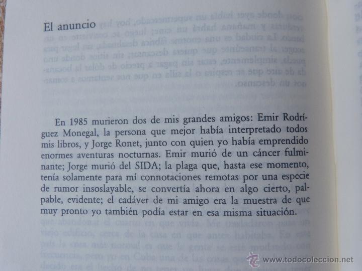 Libros de segunda mano: Libro Antes que anochezca, autor Reinaldo Arenas, Autobiografía, Círculo de Lectores, año 2001 - Foto 8 - 44877664