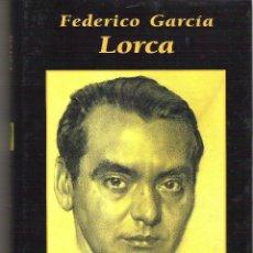 Libros de segunda mano: 1 LIBRO TAPA DURA - AÑO 2001 - GRANDES BIOGRAFIAS - FEDERICO GARCIA LORCA. Lote 45003186
