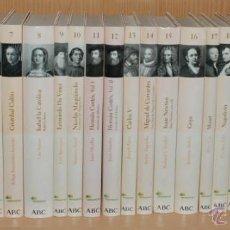 Libros de segunda mano: COLECCION COMPLETA PROTAGONISTAS DE LA HISTORIA - ABC 2004. Lote 45396127