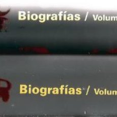Libros de segunda mano: VV.AA. GUÍA ESCOLAR VOX. BIOGRAFÍAS. TOMOS I Y II. DOS TOMOS. RM66588. . Lote 45423507