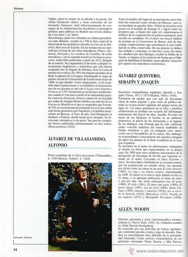 Libros de segunda mano: VV.AA. Guía Escolar Vox. Biografías. Tomos I y II. DOS TOMOS. RM66588. - Foto 4 - 45423507