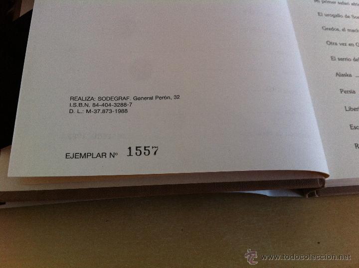 Libros de segunda mano: RELATOS DE UN CAZADOR. MARCIAL GÓMEZ SEQUEIRA. EJEMPLAR NUMERADO Nº 1557. ILUSTRADO. - Foto 8 - 46249828