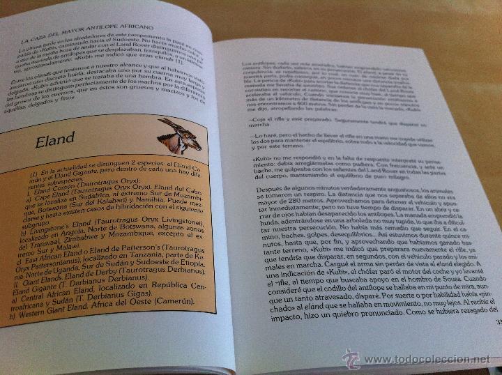 Libros de segunda mano: RELATOS DE UN CAZADOR. MARCIAL GÓMEZ SEQUEIRA. EJEMPLAR NUMERADO Nº 1557. ILUSTRADO. - Foto 10 - 46249828