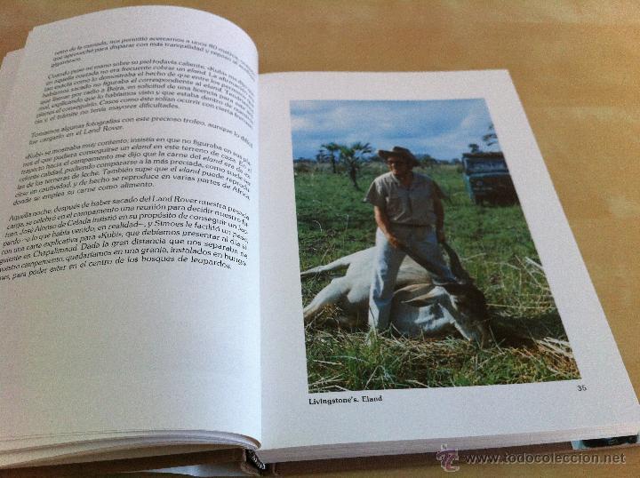 Libros de segunda mano: RELATOS DE UN CAZADOR. MARCIAL GÓMEZ SEQUEIRA. EJEMPLAR NUMERADO Nº 1557. ILUSTRADO. - Foto 11 - 46249828