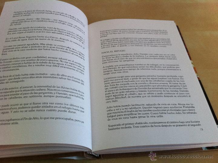 Libros de segunda mano: RELATOS DE UN CAZADOR. MARCIAL GÓMEZ SEQUEIRA. EJEMPLAR NUMERADO Nº 1557. ILUSTRADO. - Foto 12 - 46249828