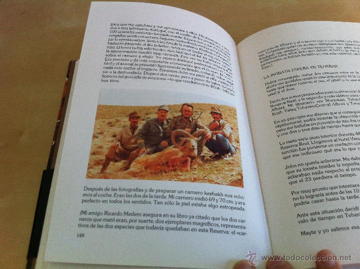 Libros de segunda mano: RELATOS DE UN CAZADOR. MARCIAL GÓMEZ SEQUEIRA. EJEMPLAR NUMERADO Nº 1557. ILUSTRADO. - Foto 14 - 46249828