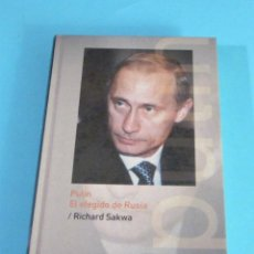 Libros de segunda mano: PUTIN, EL ELEGIDO DE RUSIA. RICHARD SAKWA. Lote 46437471