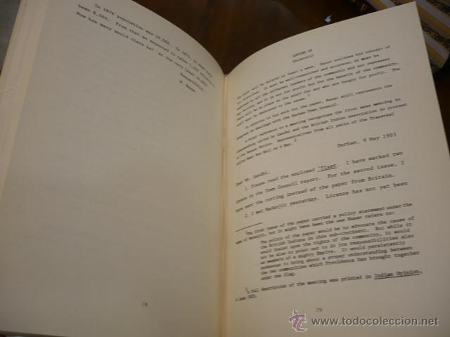 Libros de segunda mano: BHANA, SURENDRA AND JAMES D. HUNT Gandhis Editor: The Letters of M.H. Nazar 1902-1903 - Foto 2 - 13257210