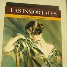 Libros de segunda mano: LAS INMORTALES .BIOGRAFIÁS DE 5 MUJERES INOLVIDABLES EDITORIAL PRENSA ESPAÑOLA 1971 VER TEXTO. Lote 46989367