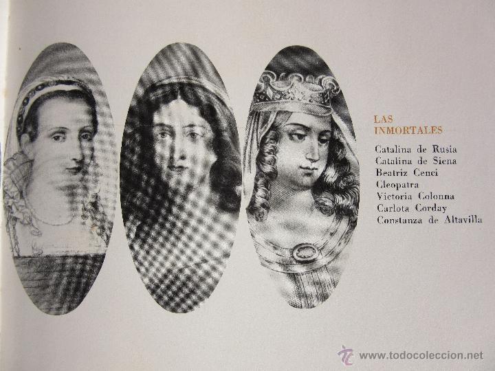 Libros de segunda mano: LAS INMORTALES BIOGRAFIAS DE 5 MUJERES INOLVIDABLES EDITORIAL PRENSA ESPAÑOLA VOL IV 1971 VER TEXTO - Foto 2 - 46989664